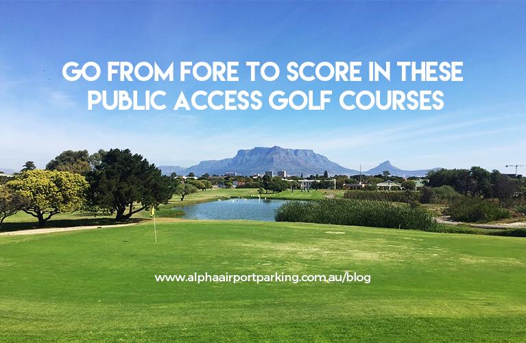 public access golf courses
