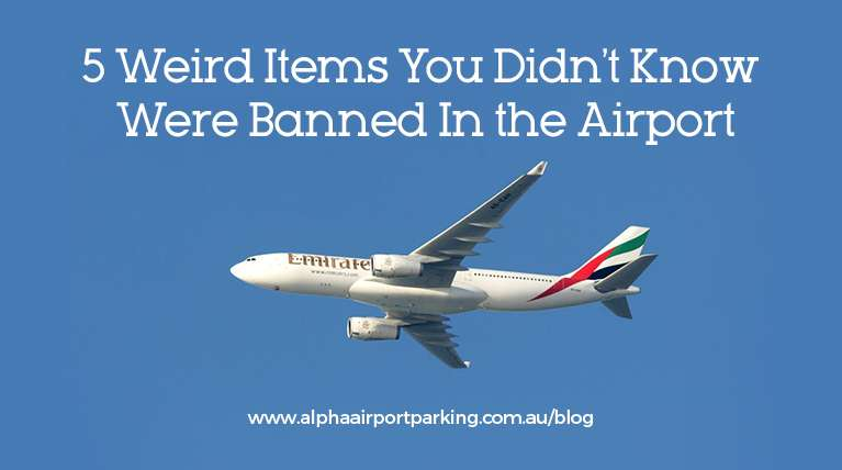 items banned in airport