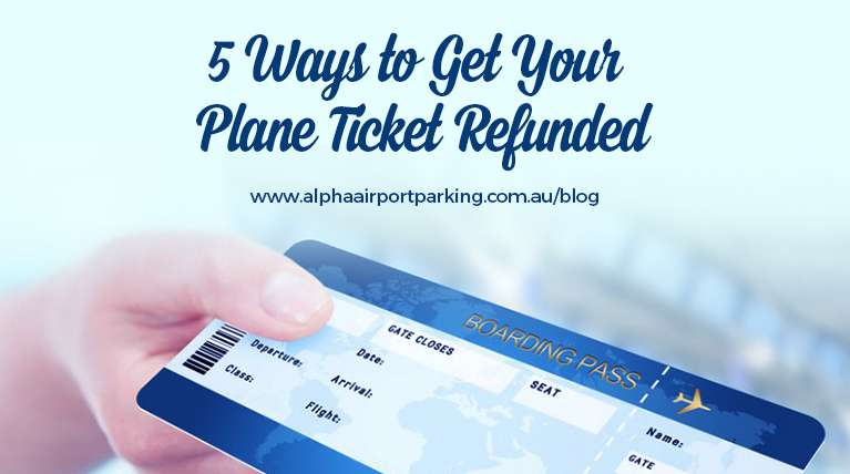 plane ticket refund
