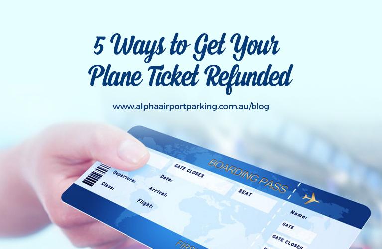 plane ticket refund