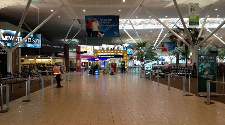 brisbane international airport on lockdown