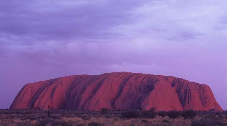 The Uluru at Sunset | Alpha Airport Parking