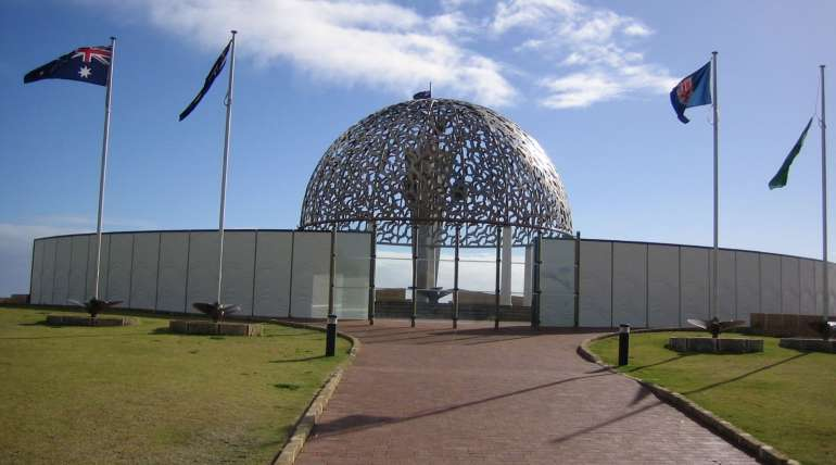 Geraldton HMAS Sydney Memorial Monument | Alpha Airport Parking